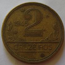 260.31 Moeda 2 Cruzeiros 1945 Bronze-alumínio