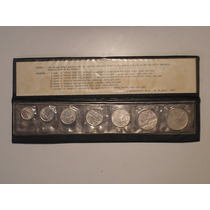 Série De Valores - 1-2-5-10-20-50 Cent 1975 / 1 Cr$ - 1970