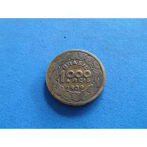 Moeda 1000 Reis Para Colecao Tobiaz Barreto Do Brasil 1939