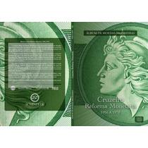 Álbum Para Moedas - Reforma Monetária 1956 A 1979 Colecione!