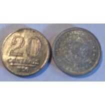 Moeda Antiga De 20 Centavos 1956