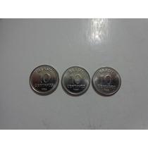 Série De 10 Centavos De Cruzados ( 1986 / 87 E 88 ).
