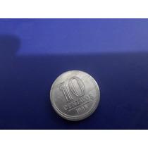Moeda 10 Centavos Aluminio Ano 1956