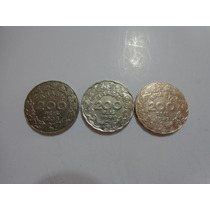 Série De 200 Réis De 1938 / 40 E 42 ( Getúlio ) - Belas.