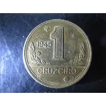 Moeda De 1 Cruzeiro Do Brasil De 1945 - Sem Sigla - V227b(2)