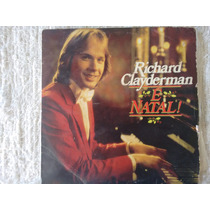 Disco De Vinil Richard Clayderman - É Natal -