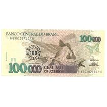 C 235 100 Cruzeiros Reais 1993 Fe