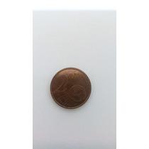 Moeda Estonia 2 Centavos Euro