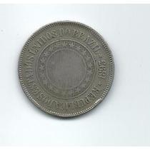 200 Réis 1893 Reverso Horizontal Rara - Republica