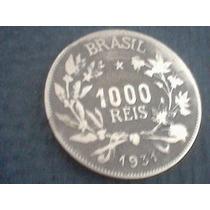 Brasil - 1000 Reis 1931 - Data Escassa Com *frete Grátis*