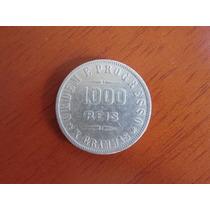 Moeda - Brasil -1000 Réis- Peso Em Gramas -1910- Prata - Mbc