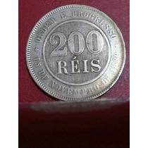 200 Réis De 1893/ Brasil Republica (v.46)