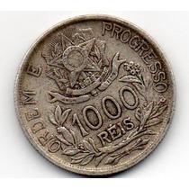 1000 Reis De Prata De 1913-estrelas Ligadas