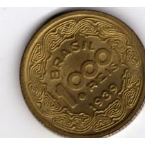 1000 Reis De 1939 Sob-flor De Cunho