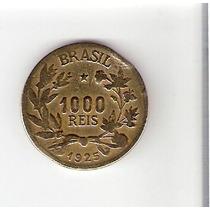 Linda Moeda De 1000 Réis 1925 - Vejam A Foto !!!