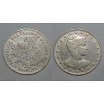 Lote Com 15 Moedas De 100, 200 E 400 Réis Mcmi (1901)