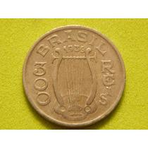 Moeda De 300 Réis De 1936 Carlos Gomes Do Brasil (ref 1420)