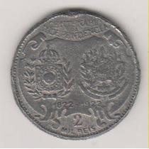 05 - 2 Mil Réis Falsa Da Época Raríssima 1922 R$ 29,00