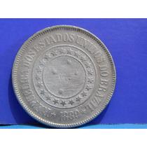 Antiga Moeda 200 Reis 1889