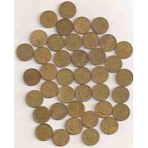 Ml- X = Lote 100 Moedas De 2 Cruzeiros De Bronze-aluminio