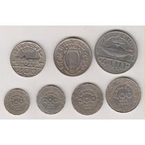 1046 - Moedas De Níquel Brasileiros Ilustres O Lote R$ 25,00