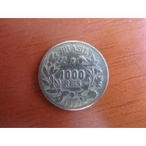 Moeda - Brasil - 1000 Réis - 1927 - Mbc