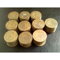 Ofertaçooo-100 Moedas Amarela 27mm P/alianças Frete Gratis
