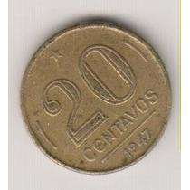 10201 - 10 Centavos Reverso Inclinado Rara R$ 10,00