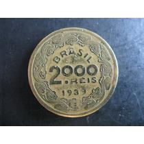 Moeda De 2000 Réis - Floriano Peixoto - 1939