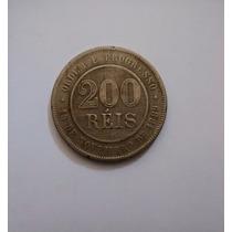 Moeda De 200 Réis 1893