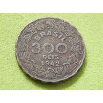 Moeda De 300 Réis De 1942 Getúlio Vargas Brasil (ref 2271)