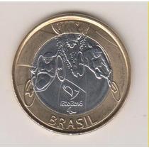 436 - 1 Um Real Rio 2016 Fc Paraolímpica Coleção R$ 4,00