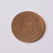 Moeda De 40 Reis 1900 Bronze Frete Grátis!! - 13