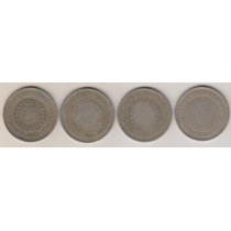 B77 - 200 Réis 1893/95/96/97 Frete Grátis O Lote R$ 50,00