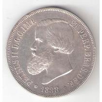 2000 Reis - 1888 - Prata 900 - 25 Gr