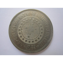 Brasil Moeda 200 Réis 1889