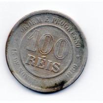 Moeda 100 Reis 1893