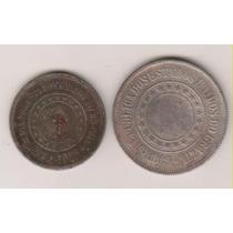 A255 - 200 Duzentos R.é.i.s 1889 Moeda De Níquel R$ 15,00