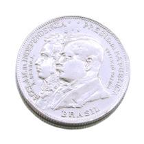 2 Mil Réis Brasil República 1922; Moeda Em Prata 0451