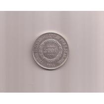 P 623 Data Rara 1864. Moeda De Prata De 2.000 Réis.