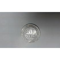 Moeda 200 Reis De 1889