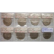 Série 200 Réis Império - 8 Moedas - 1889 A 1899