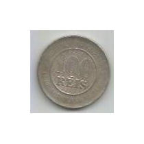 232 - Moeda Brasil 1893 - 100 Réis
