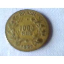 M-026 - Moeda 1000 Réis 1927 - Bc