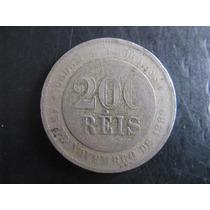 Moeda De 200 Réis De 1897 - Repúbica - V