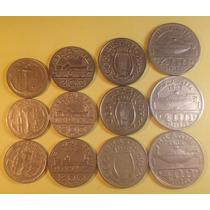 Moeda 100 200 300 400 Réis Ano 1936 1937 1938 Série Completa