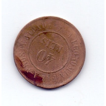 Moeda Antiga De Bronze 1889 - 40 Res