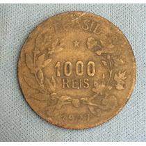 1000 Réis 1927 Para Colecionador, Moeda Da Fortuna