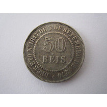 Brasil Moeda 50 Réis 1886