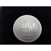 Moeda 200 Reis - Republica -1889 - A Primeira Da República